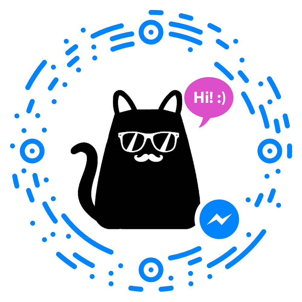 Mica, the Hipster Cat Bot for Facebook Messenger