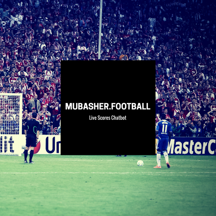 MubasherFootball Bot for Facebook Messenger