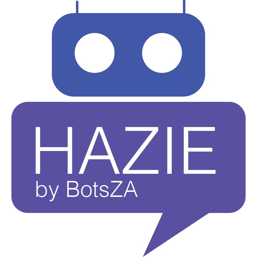 Hazie Bot for Facebook Messenger