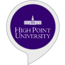 High Point University Daily Motivation Bot for Amazon Alexa