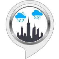 Sleep Sounds: City Rain Bot for Amazon Alexa