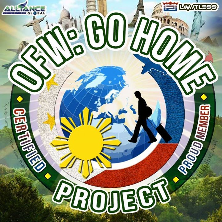 OFW Go Home Project Bot for Facebook Messenger