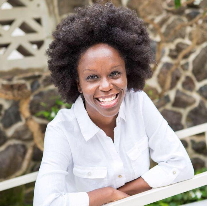 Happy Black Woman Bot for Facebook Messenger