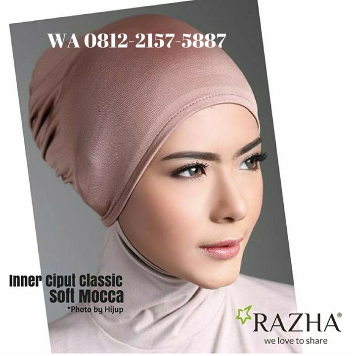 Grosir Inner Ciput Hijab Tas RAZHA Bot for Facebook Messenger