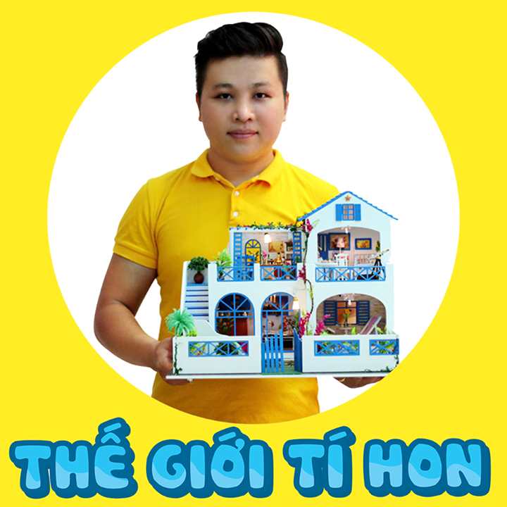THẾ GIỚI TÍ HON - Mô Hình Nhà Gỗ DIY Bot for Facebook Messenger