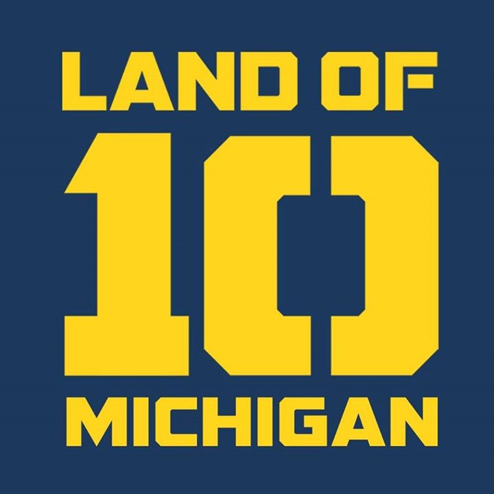 Michigan Wolverines - Land of 10 Bot for Facebook Messenger