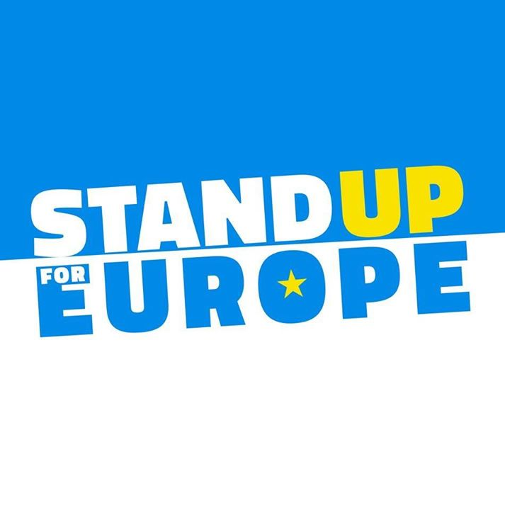 Stand Up For Europe Bot for Facebook Messenger