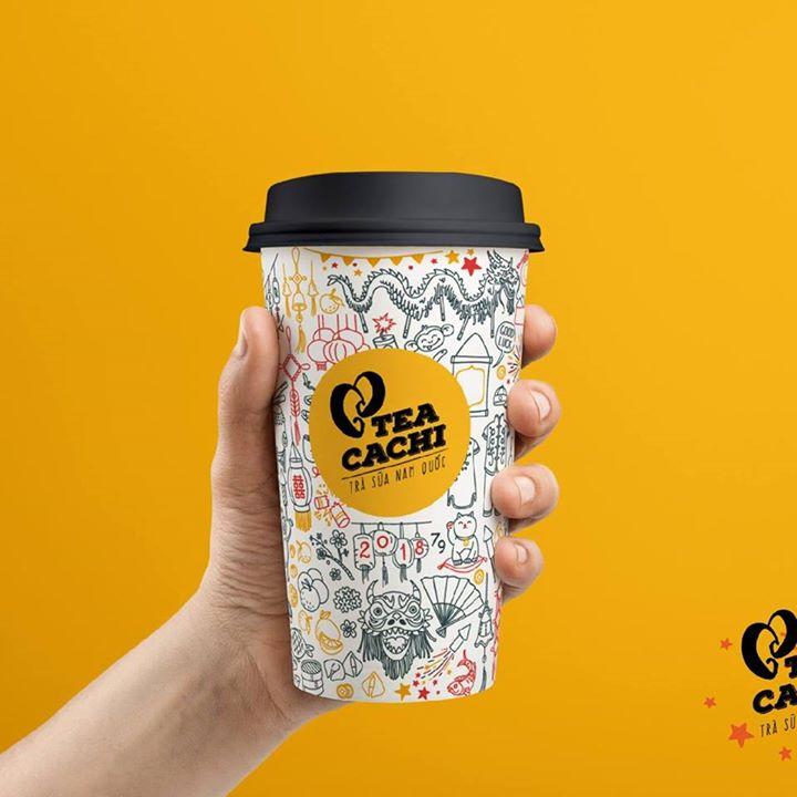 Trà Sữa CaChi Tea Bot for Facebook Messenger