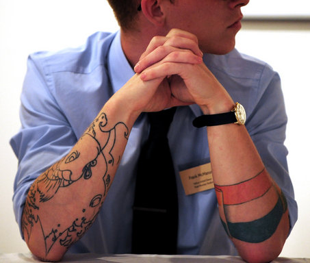 Tattoo acceptance in the workplace Bot for Facebook Messenger