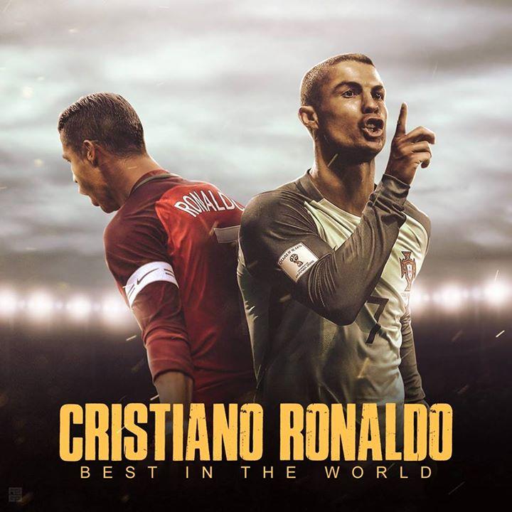 Cristiano Ronaldo Best In The World Bot for Facebook Messenger