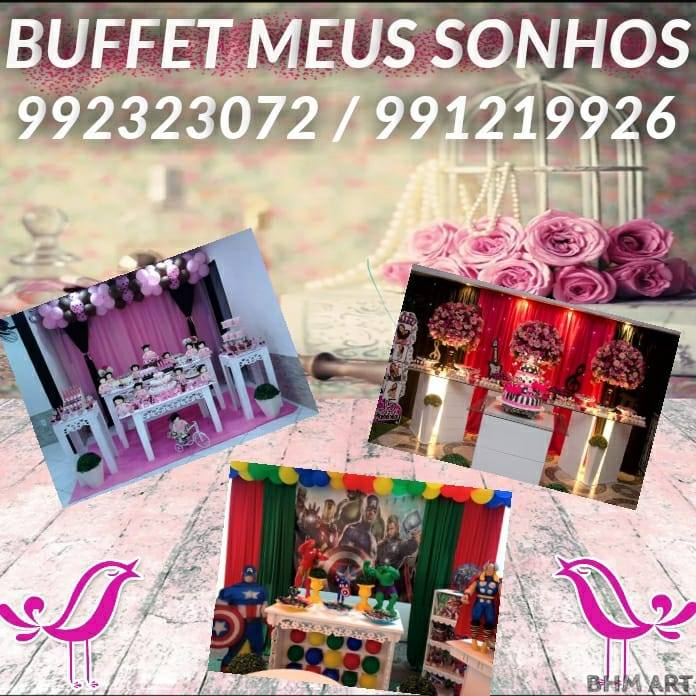 Buffet Meu Sonho Bot for Facebook Messenger